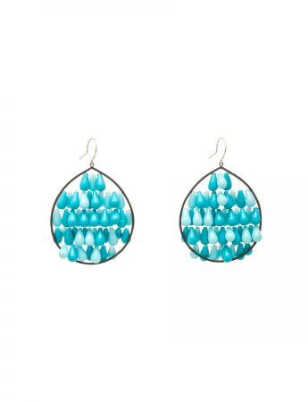 Reef Earrings - Blue