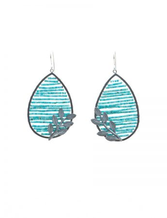 Reef with Leaf Earrings
