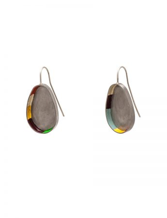 Colour Strip earrings
