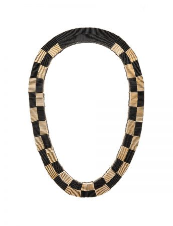 Black and Gold neckpiece