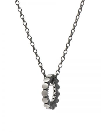 Secret Kisses Neckpiece - Oxidised Silver