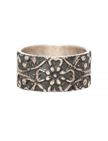 Morocco Ring - Oxidised Silver
