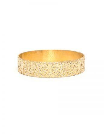 Italy Bangle - Gold Plated