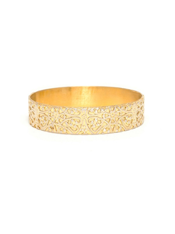 Italy Bangle – Gold Plated
