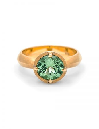 Mint Tourmaline ring