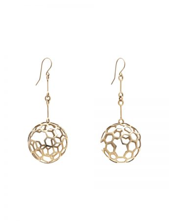 Geodesic Sphere earrings