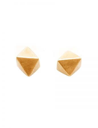 Micro-Octahedron earrings