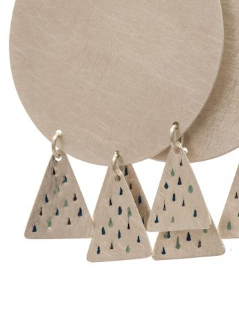 Moon Over Mountains earrings