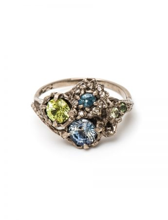 Triple Cluster Twilight ring