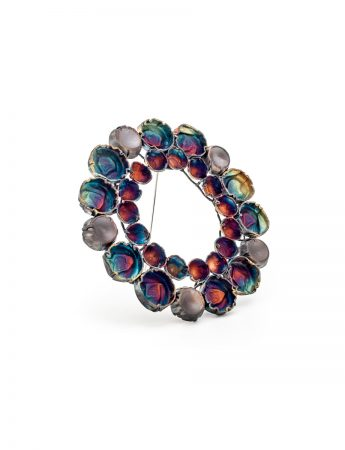 Fifteen Circles Brooch