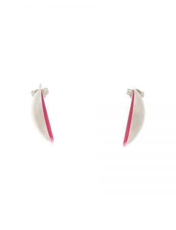 Half Shell Earrings – Pink