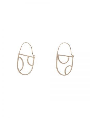D Ring earrings