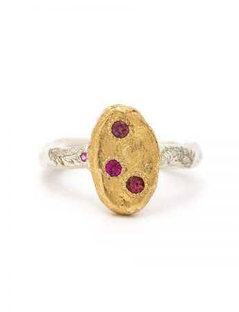 Journey Keepsake Ring - Ruby & Sapphire