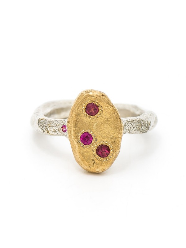Journey Keepsake Ring – Ruby & Sapphire