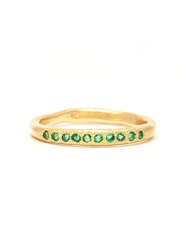 Possibilities Ring – Gold & Emerald