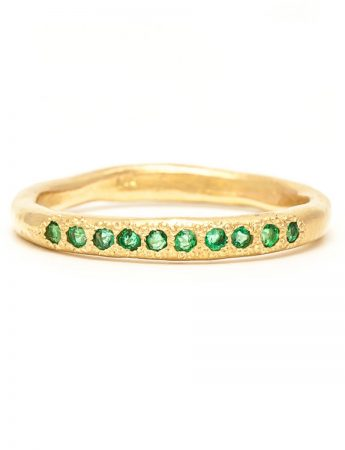 Possibilities Ring - Gold & Emerald