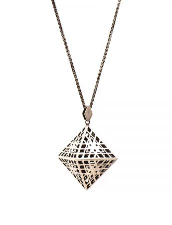 Amplify Octahedron Pendant Necklace