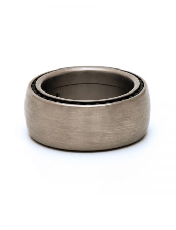Ball Track Ring - Titanium
