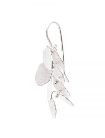 Wisteria 4 Drop Earrings - Silver