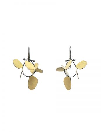 Wattle Earrings - Yellow