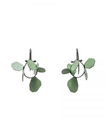 Wattle Earrings - Green