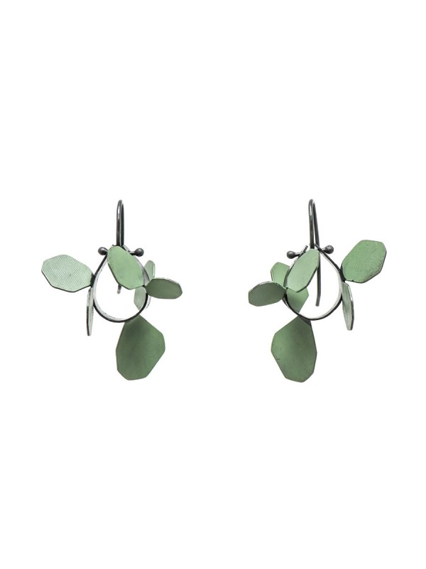 Wattle Earrings – Green