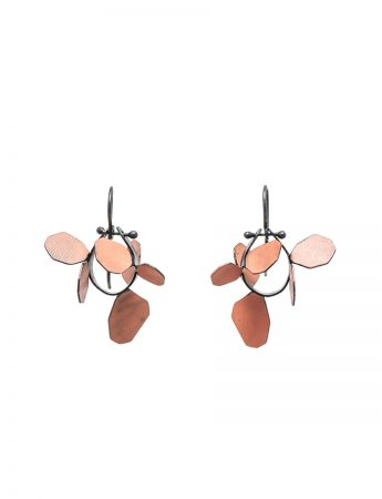 Wattle Earrings - Orange