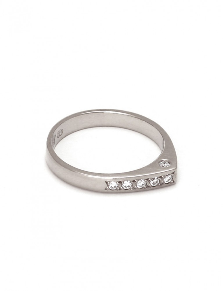 Eternity Ring – White Gold & Diamond