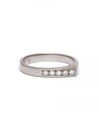 Eternity Ring - White Gold & Diamond