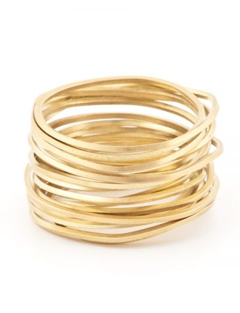 Ultracoil Ring - Yellow Gold