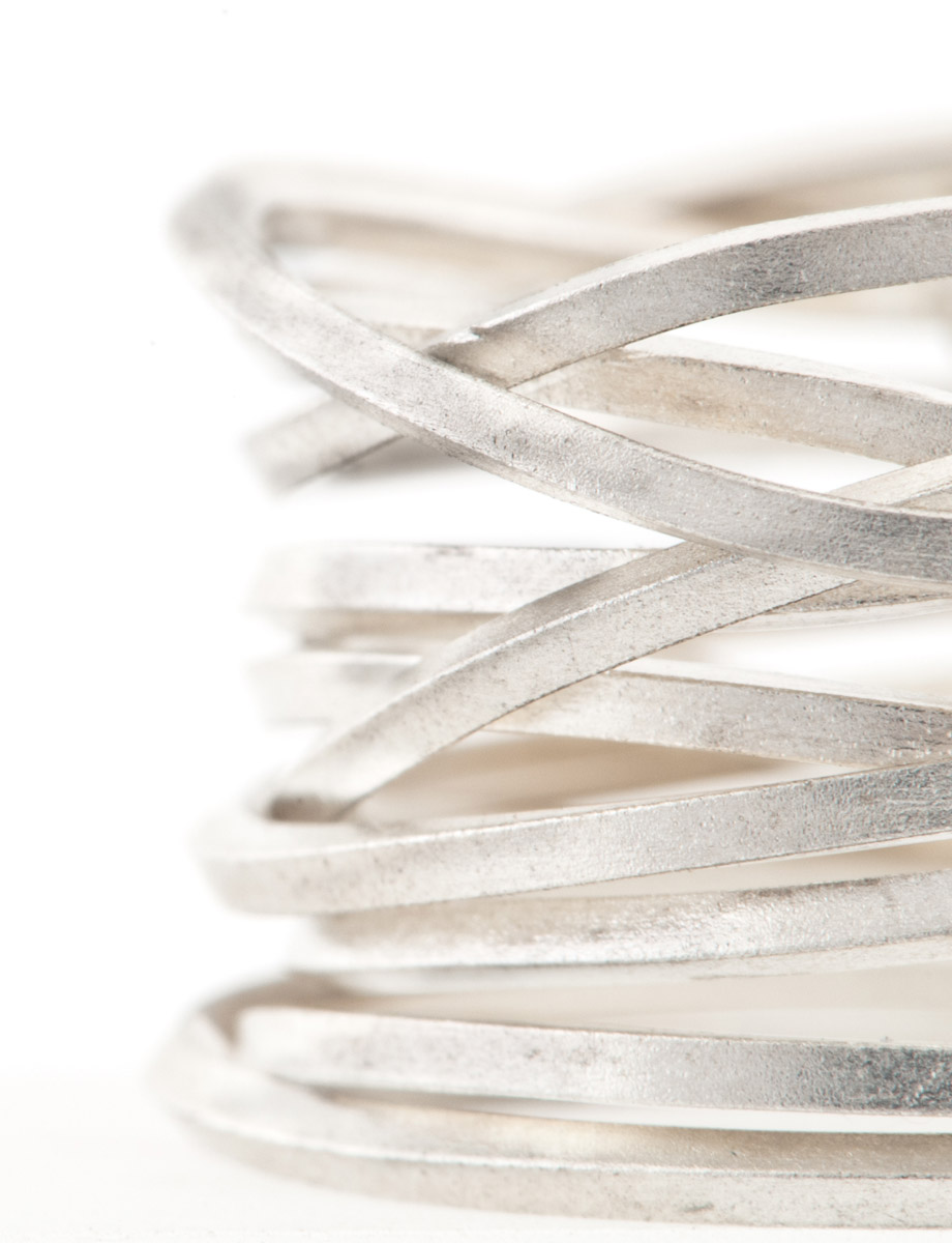 Ultracoil Ring – Sterling Silver