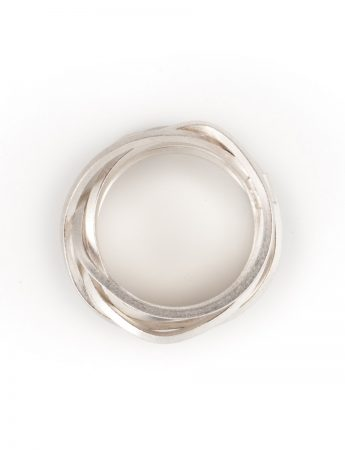 Ultracoil Ring - Sterling Silver