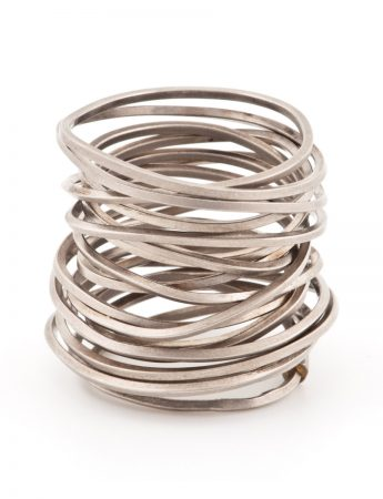 Ultracoil Ring - White Gold