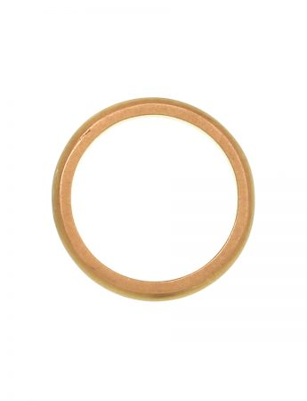 Half Round Ring - Yellow Gold