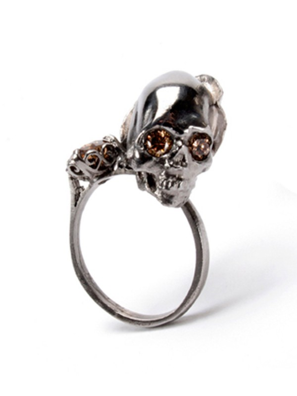 Death and Lilies ring