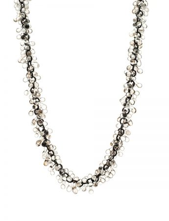 Loose Clear Glass Neckpiece