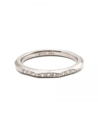Night Sky Ring – White Gold & Diamond