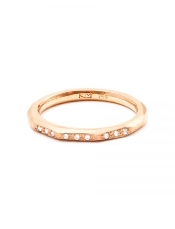 Night Sky Ring - Rose Gold & Diamond