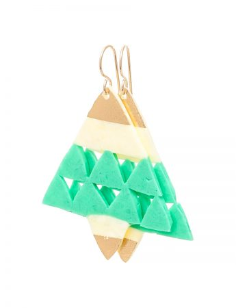 Large Cut-Out Triangles