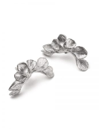 Leaf cuff earrings