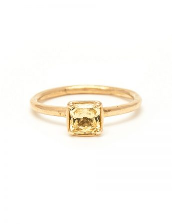 Yellow Dawn Ring