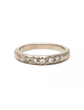 Five Diamond Ridge Ring