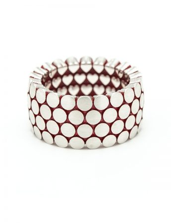 Secret Hearts Ring - Red Enamel