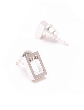 Punch Rectangle earrings