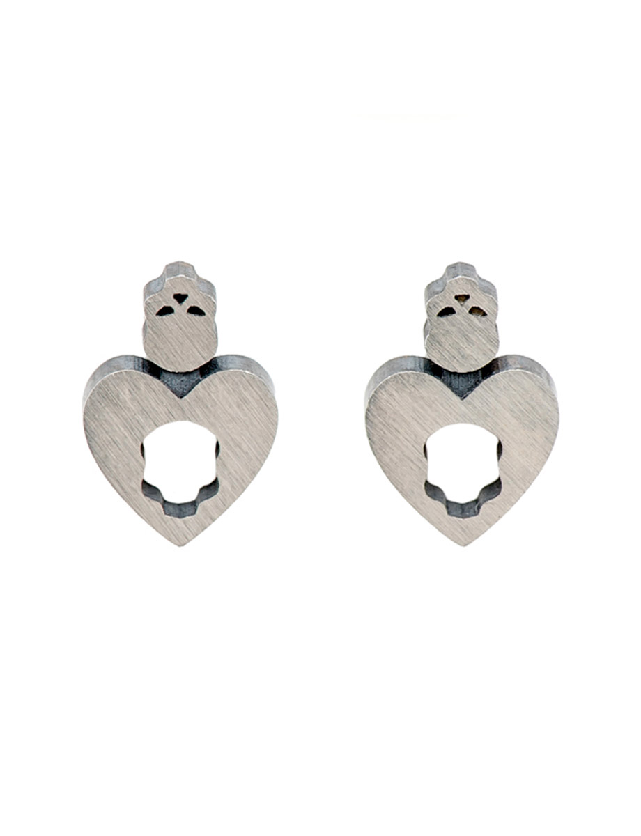 Dark Heart earrings