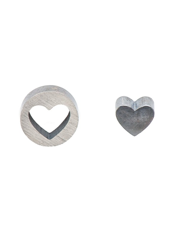 Punch Heart earrings