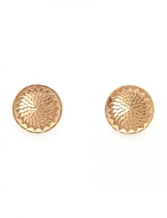 Dot Stud Earrings – Gold