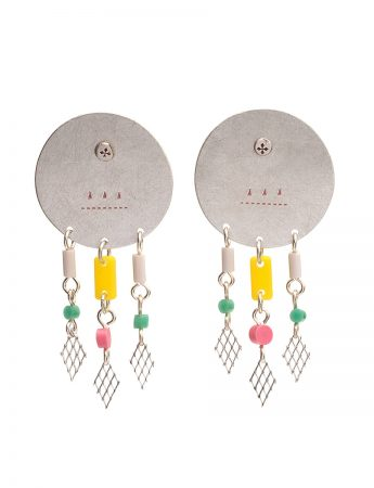 Lay in shimmer earrings