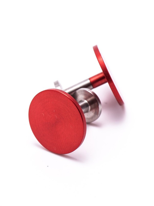Location Cufflinks – Red