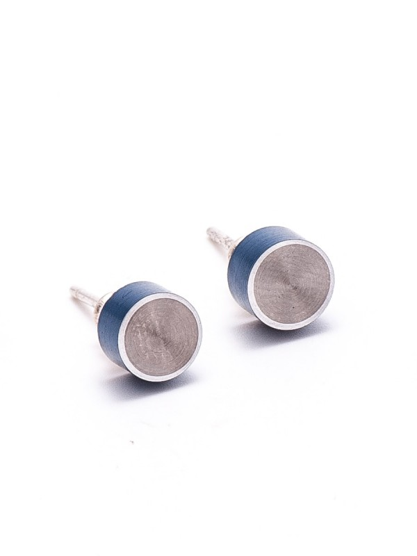 Station Earrings – Blue